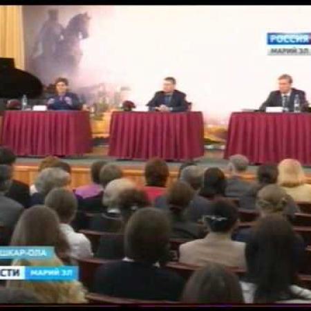 Вести Марий Эл - Леонид Маркелов посетил школу № 19 г.Йошкар-Олы